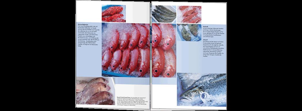 Broschüre Frisch-Fisch-Hallen 1x offen