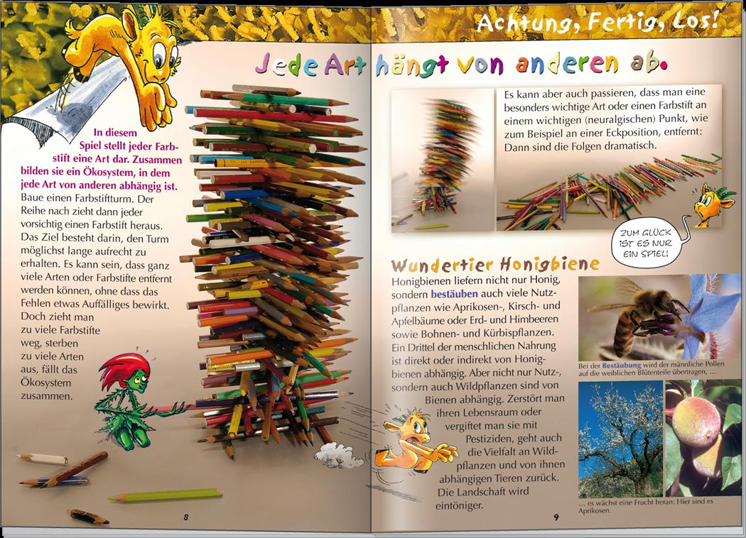 Kinderzeitschrift innen 2