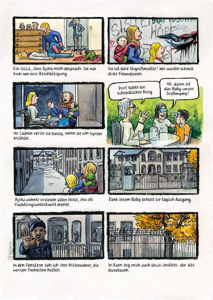 Europa-Comic Seite 3