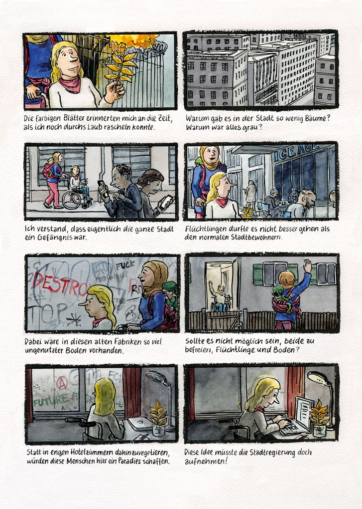 Europa-Comic Seite 4