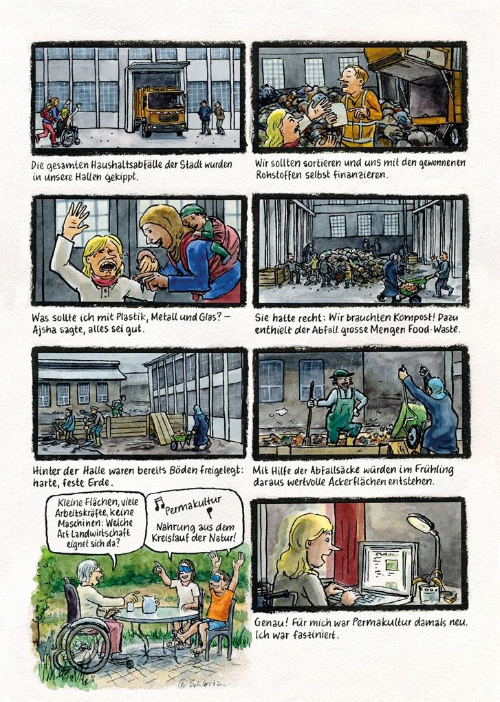 Europa-Comic Seite 6