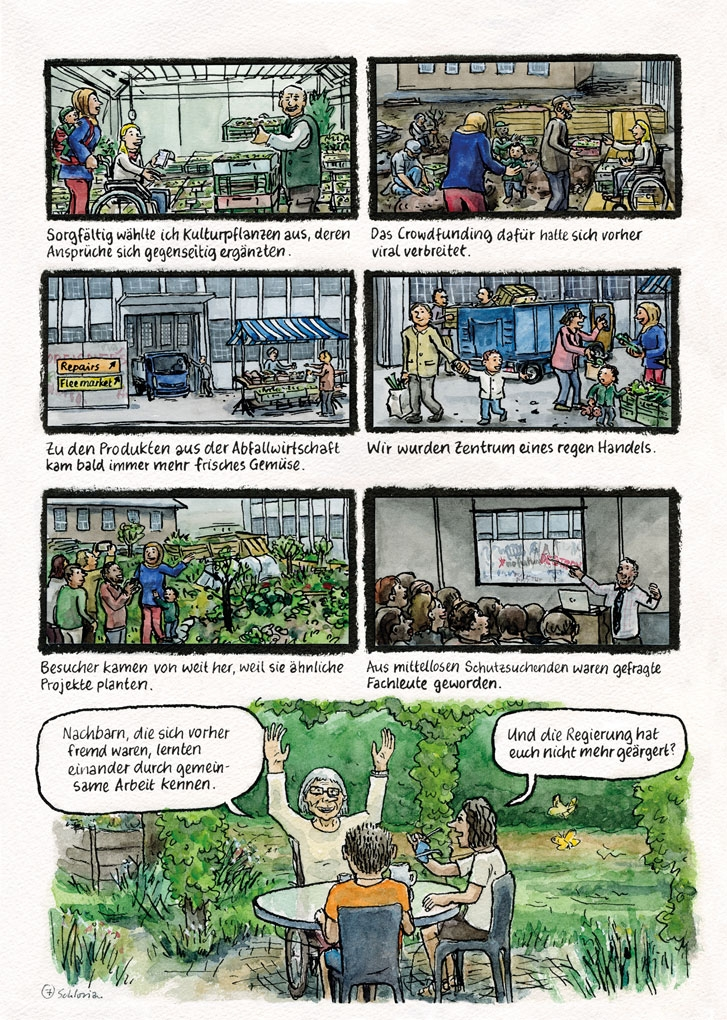 Europa-Comic Seite 7