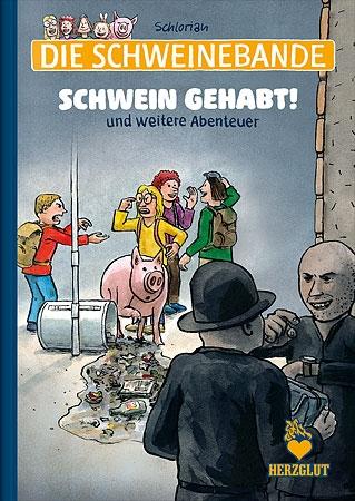 """Comicalbum """"Schwein gehabt!"""""""