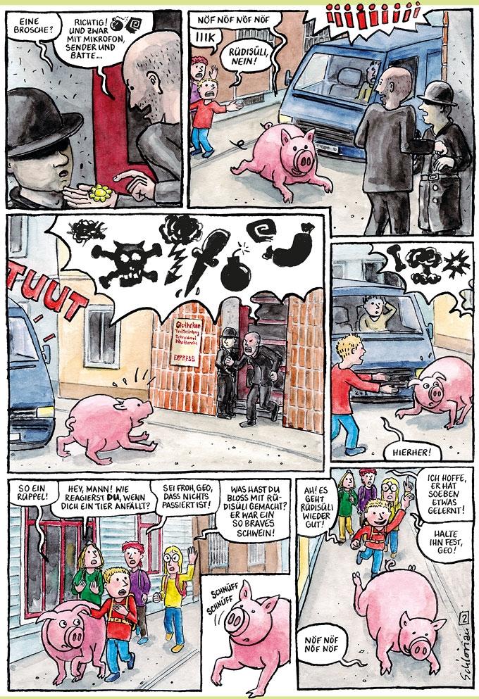 """""""Schwein gehabt!"""" S.02"""