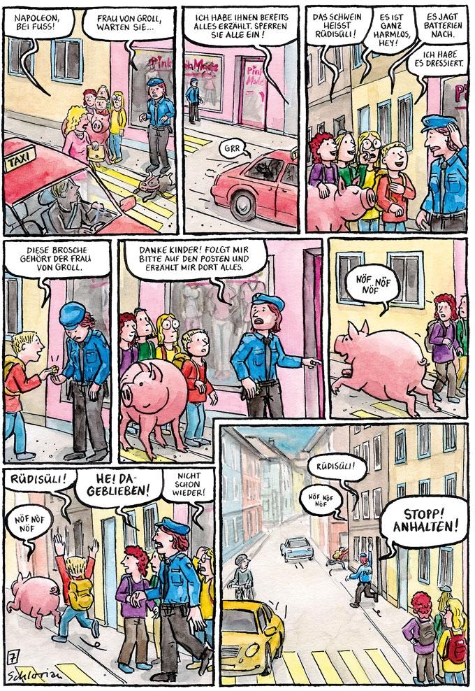 """""""Schwein gehabt!"""" S.07"""