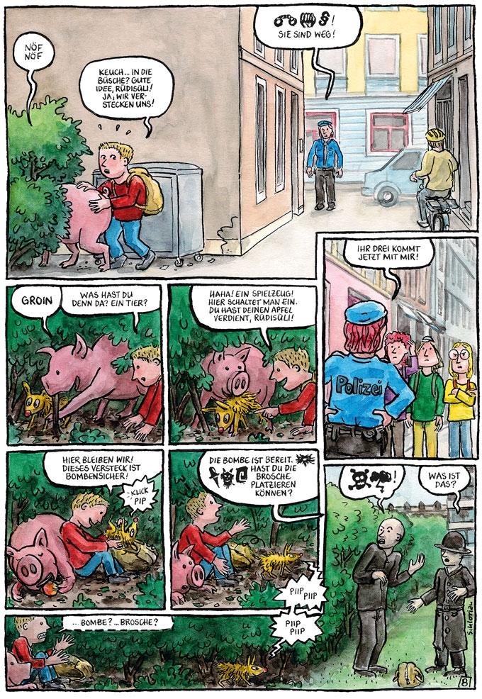 """""""Schwein gehabt!"""" S.08"""