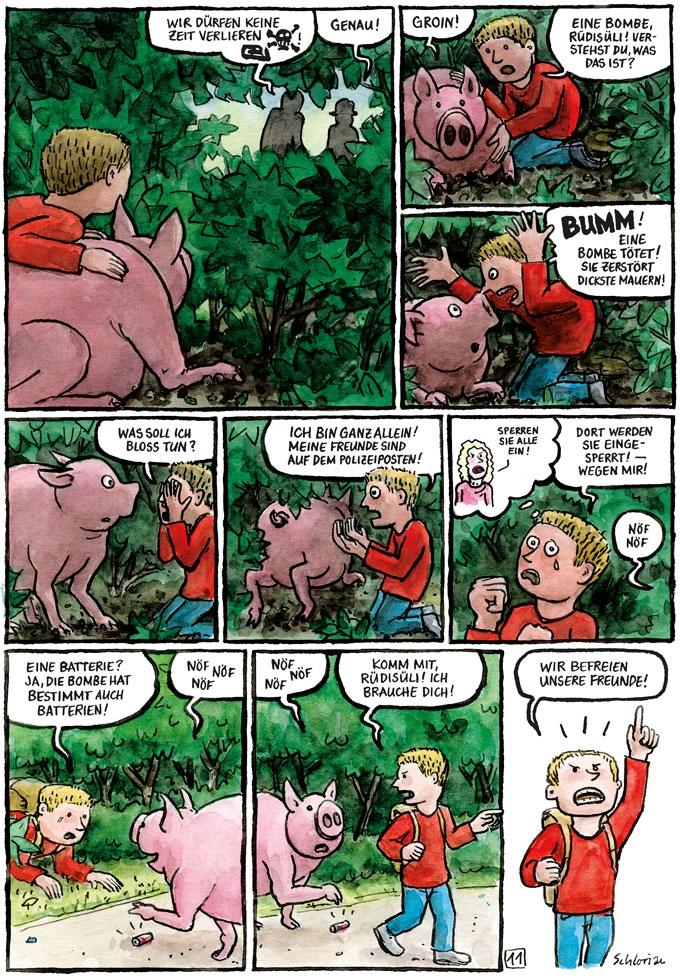 """""""Schwein gehabt!"""" S.11"""