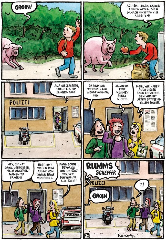 """""""Schwein gehabt!"""" S.12"""