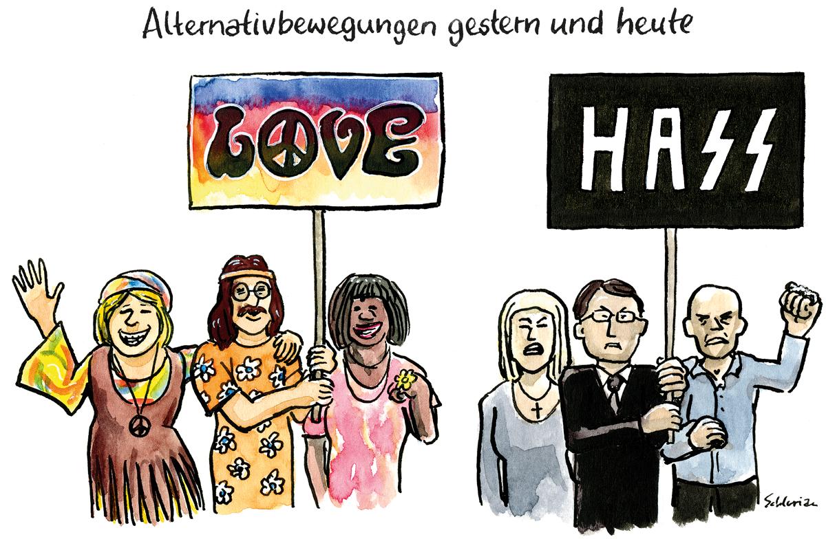 Alternativbewegungen gestern und heute