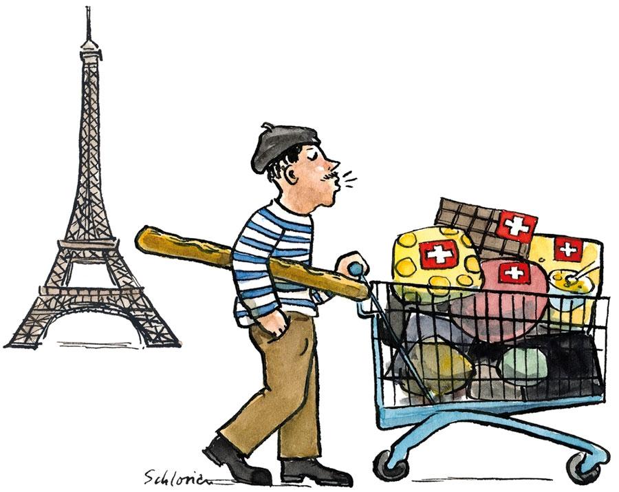Einkauf Schweizer Produkte