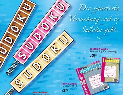 Kioskplakat Sudoku