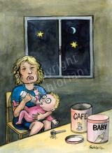 Café und Baby