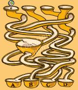 Labyrinth Murmelbahn