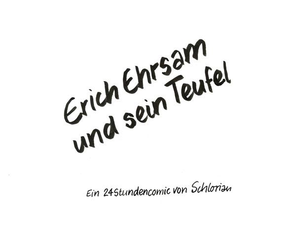 Erich Ehrsam und sein Teufel
