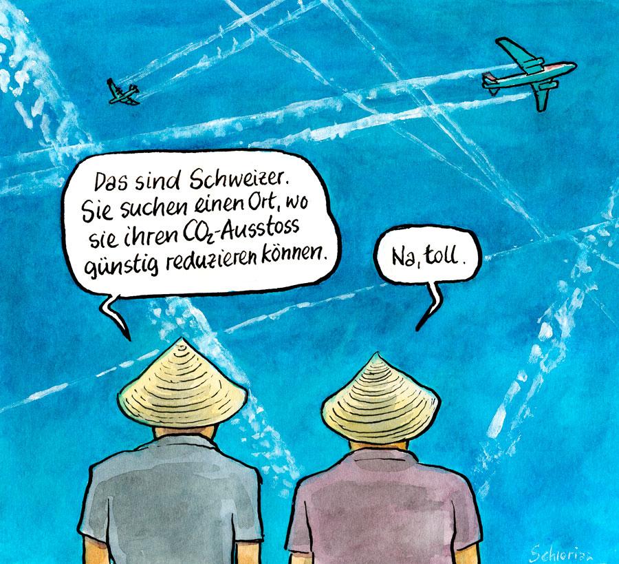CO2-Reduktion à la Suisse