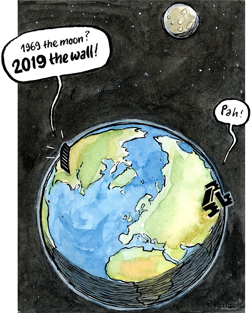 2019 the wall!