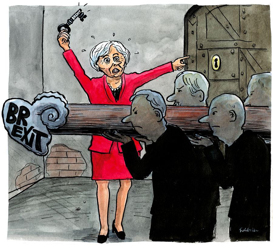 Theresa May und der Brexit