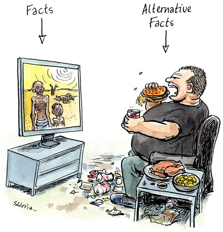 Hungersnot und Überfluss