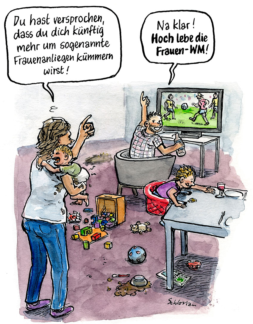 Fussball Schlorian Cartoon Comics Ratsel Grafik