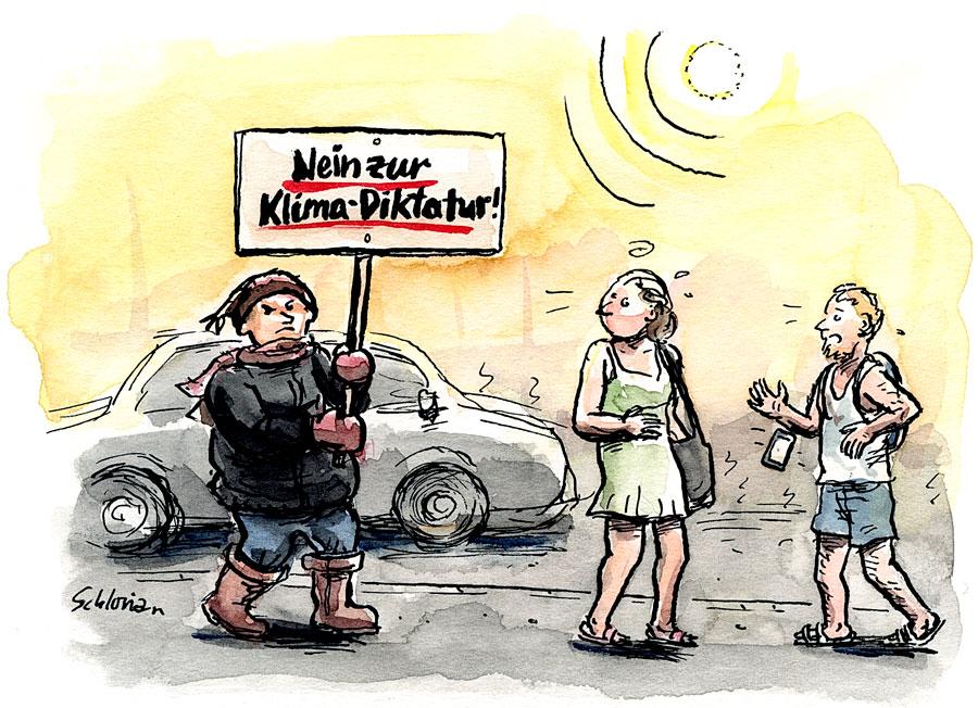Nein zur Klima-Diktatur!