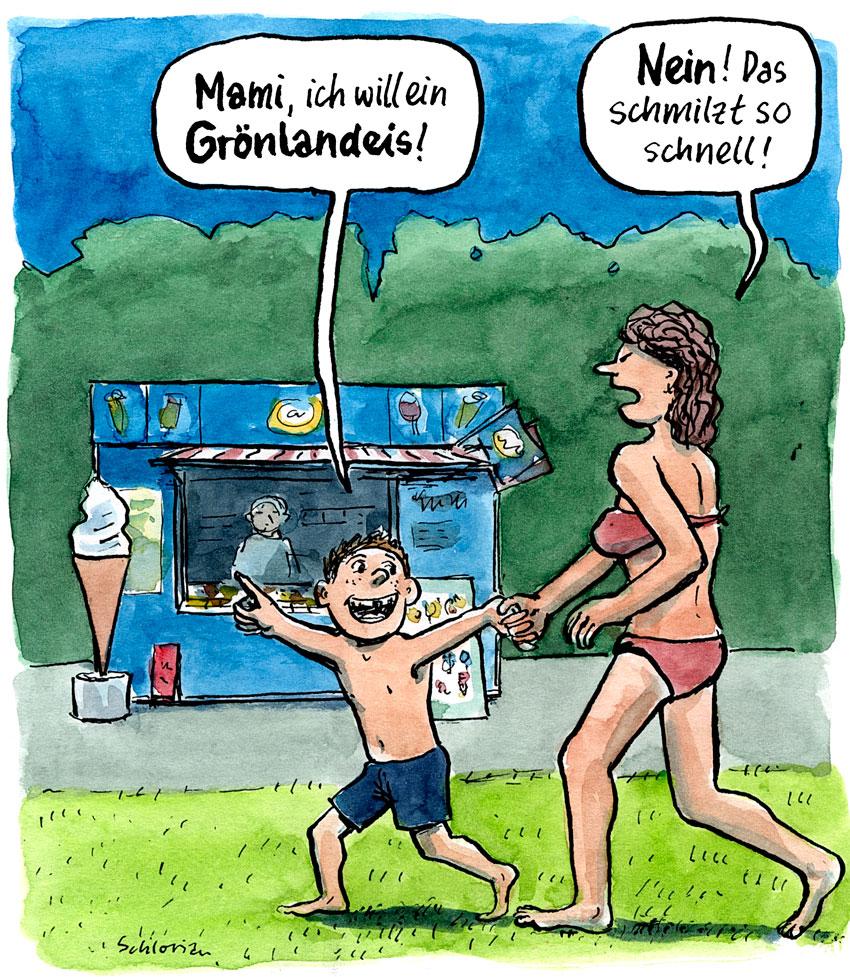 Mami, ich will ein Grönlandeis!