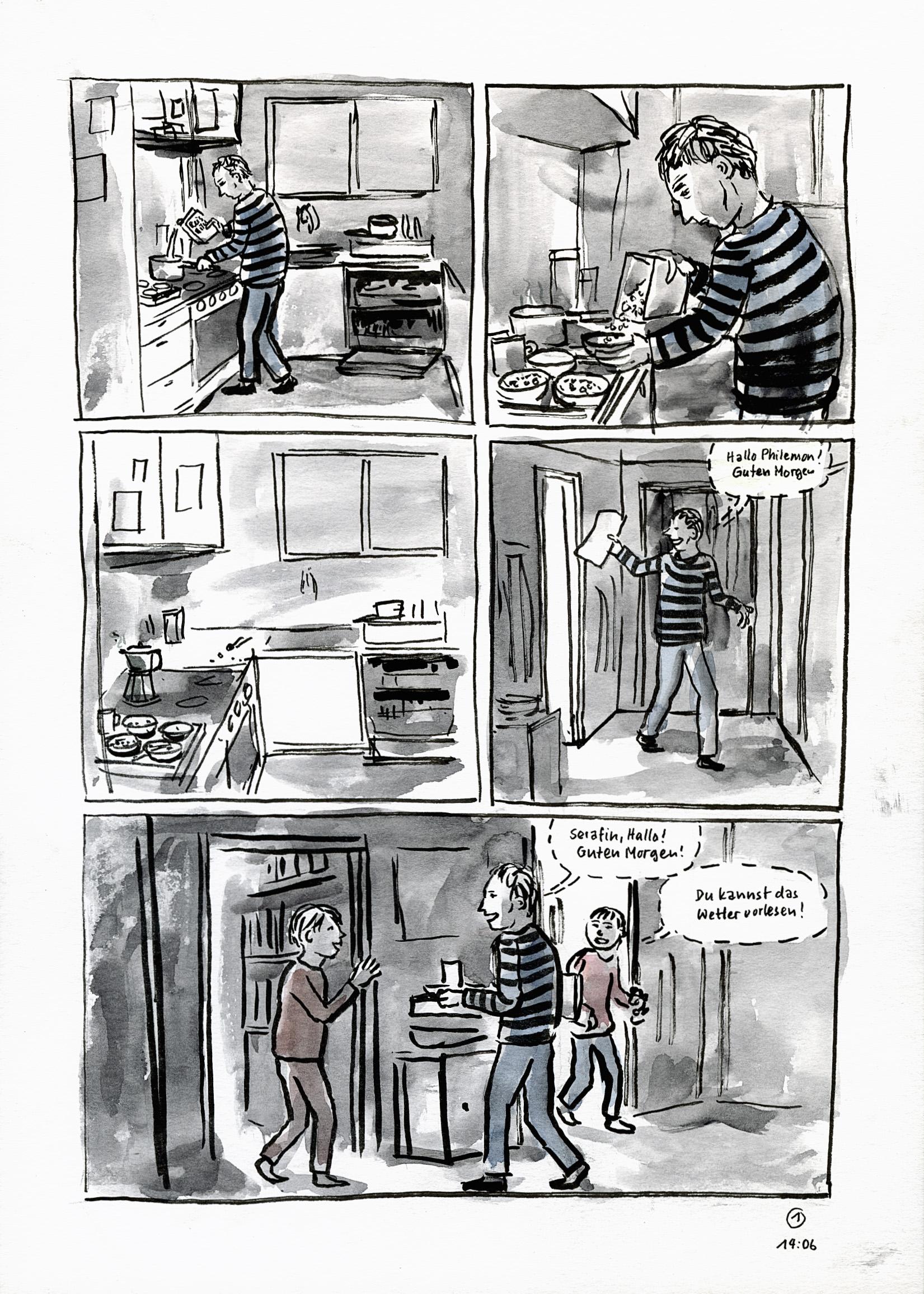 Comic Liebe p1