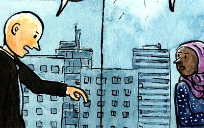 Cartoon: unter Chefs