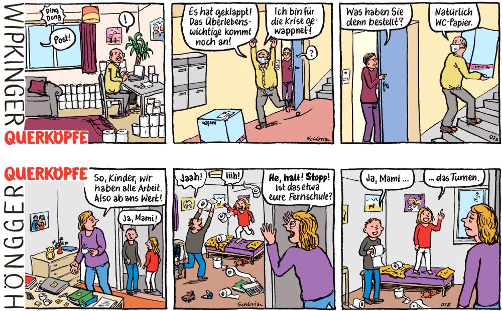 Comicstrips Querköpfe