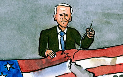 Cartoon Joe Biden