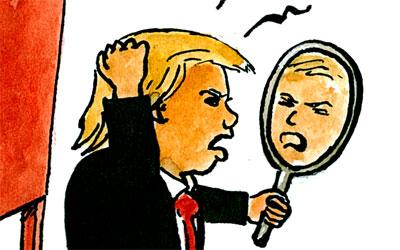 Klein-Donald Trump