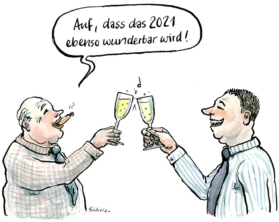 Cartoon Prost 2021!