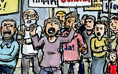 Cartoon Demonstration