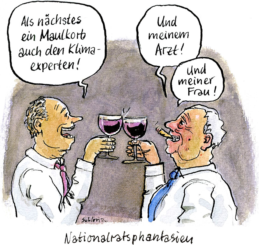 Cartoon Nationalratsphantasien