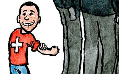 Cartoon Klein-Ignazio-Cassis