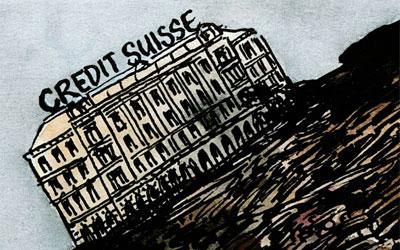 Cartoon Credit Suisse