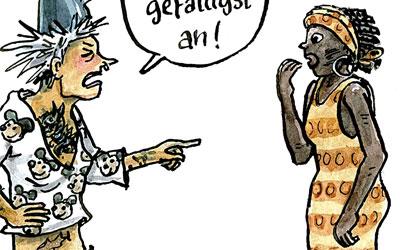 Cartoon Anpassung